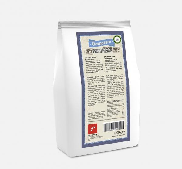 Preparato per pasta fresca gluten free e lactose free