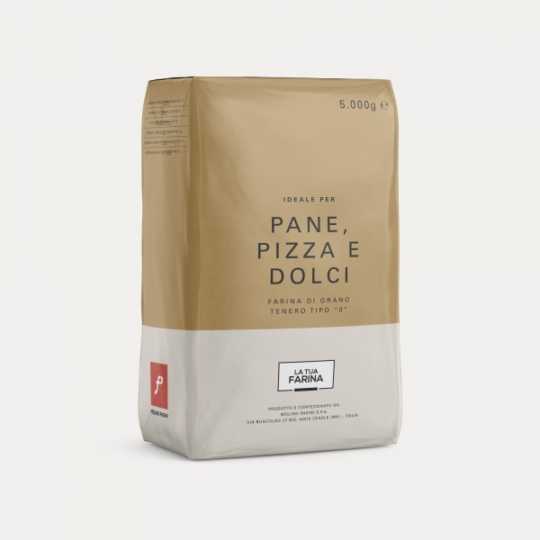Flour for bread, pizza and cakes